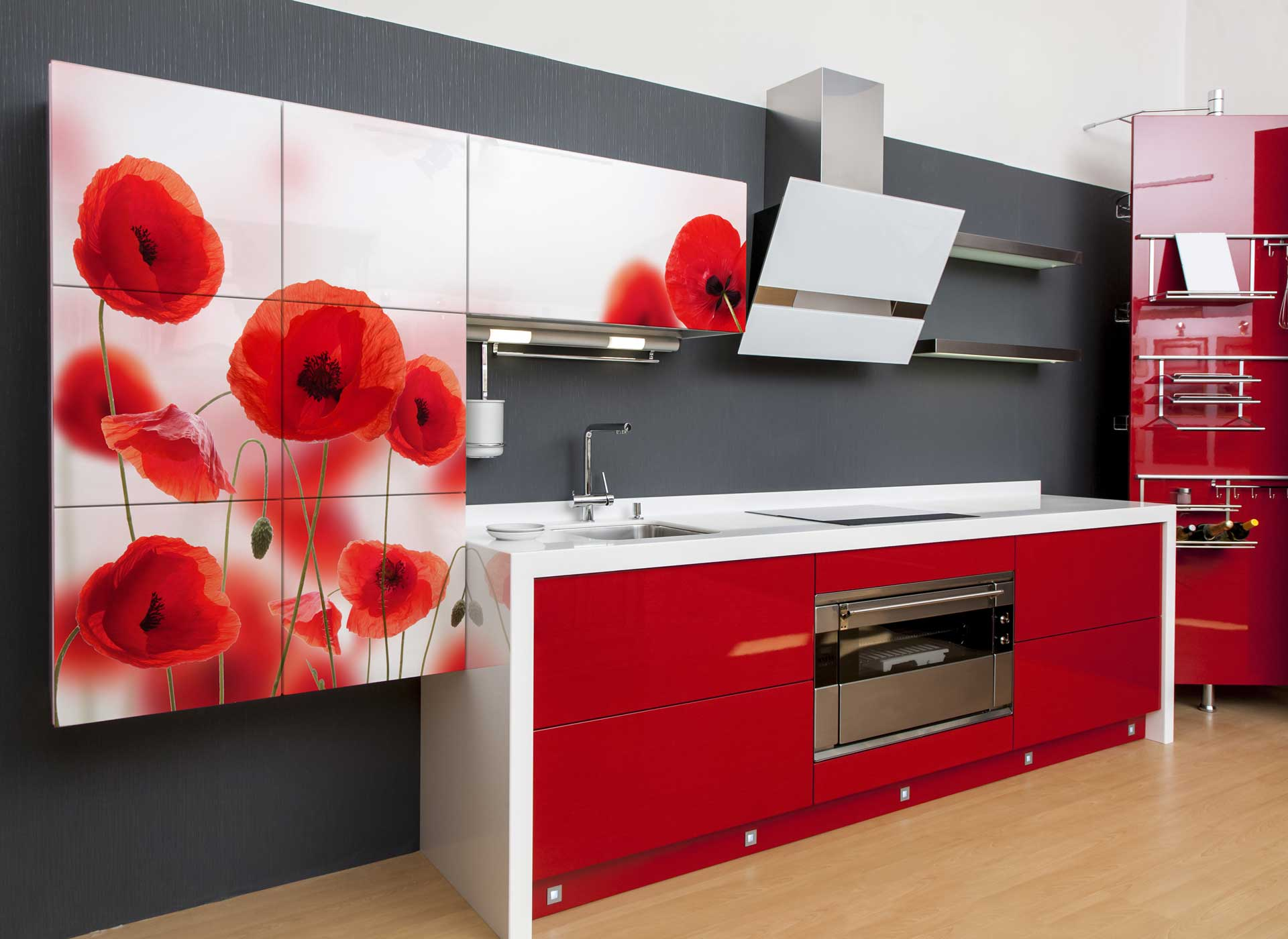 Red Weed kitchen furniture