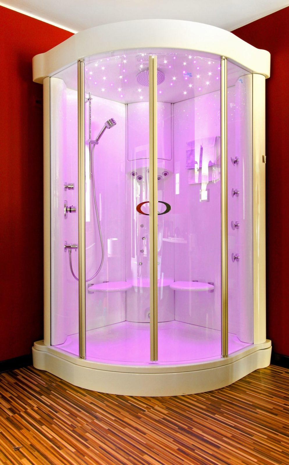 Violetto Bath Cabin LED lights